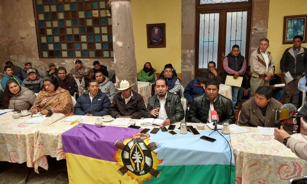 Purépechas piden a la SCJN resolución en favor de la autonomía de dos comunidades